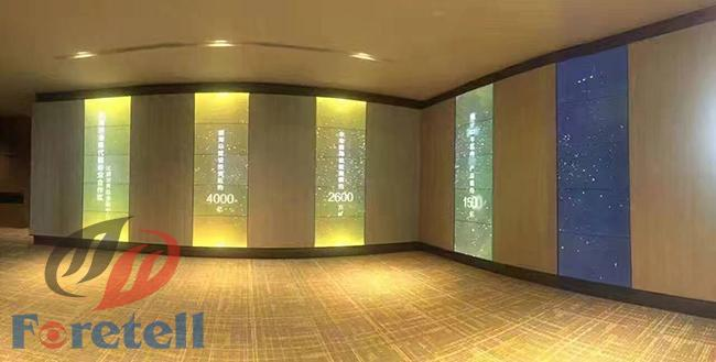Commercial In Wall Touch Screen Video Wall Interactive Multi Touch Display For Waiting Room