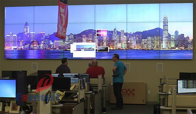 3D Noise Reduction Conference Room Video Wall , Full Screen Display