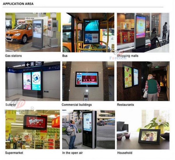 HD vertical wifi digital signage With Android OS Queueing Management System