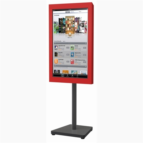 21.5 Inch Android 5.1 stand alone digital signage outdoor displays With Camera Wifi