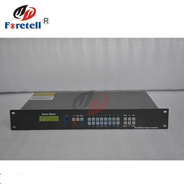 8 x 8 Matrix Switcher Led Video Wall Processor HD 8 In 8 Out  With RS232