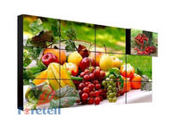 China Built - In 3D Noise Reduction 4K Video Wall Vertical Video Wall FHD 3840 * 2160 LCD Screen factory