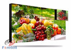 China 2.8mm Bezel 3D Lcd Display Flexible Video Wall , Curved Video Wall Built - In 3D Niose Reduction factory