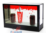 Jewelry Exhibition Lcd Transparent Screen Transparent Video Showcase 100 ~ 240V Power Supply