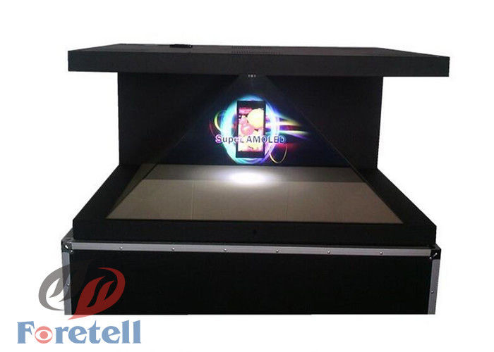 450 Cd / M2 3d Pyramid Hologram Real 3d Display , Holographic Projection Display For Exhibition