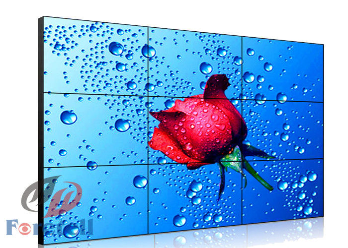 FHD Indoor Lcd Digital Signage Video Wall , Samsung Video