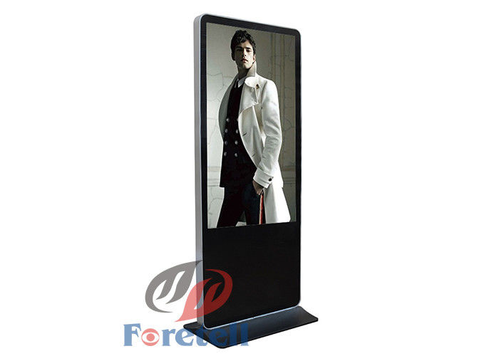 49 Inch TFT Screen Type Free Standing Digital Signage For Shopping Mall Aluminum Frame
