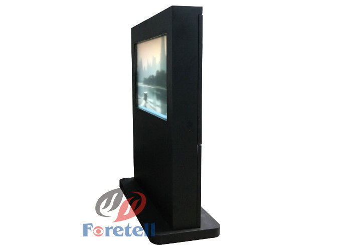 Government Digital Signage Outdoor Displays , Portable Commercial Digital Signage