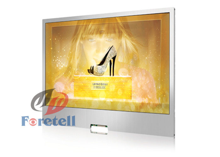 178° Visual Angle Transparent Lcd Touch Screen Advertising Display Box For Mall