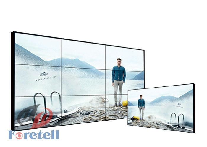 Super Narrow Bezel 1 8mm 4K Video Wall / 4k Video Display LG 55 Inch