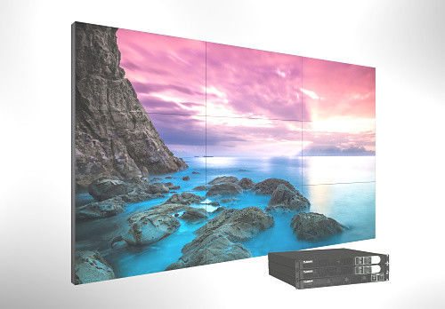 1.7Mm 0.9mm Bezel Lcd Video Wall Display , Large Samsung Videowall Panel