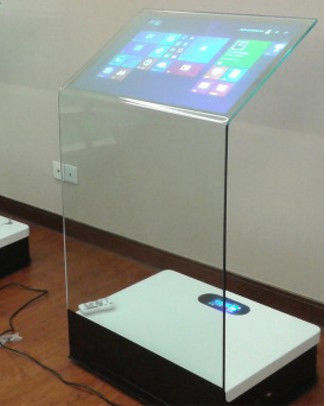 30 inch interactive touch screen platform advertising display