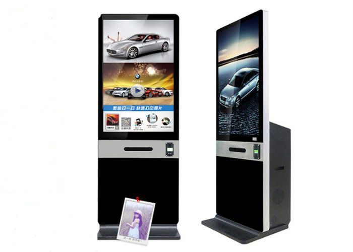 "43"" Instagram Photobooth Kiosk With Printer And Coin/Bill Payment Function"