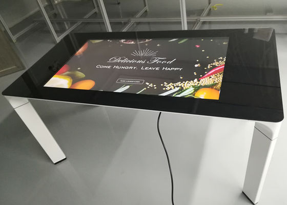 43 Inch Coffee Table Capacitive Touch Display Interactive Touch Table
