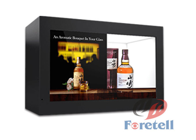 Networking Transparent LCD Display Interactive Multi Touch Screen waterproof