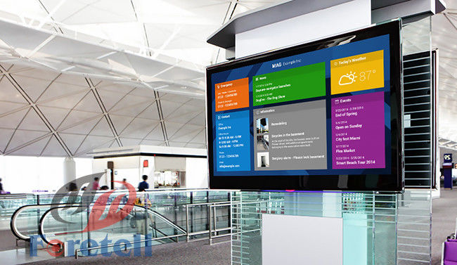 Custom Capacitive Touch Panel Large Touch Screen Display Floor Standing