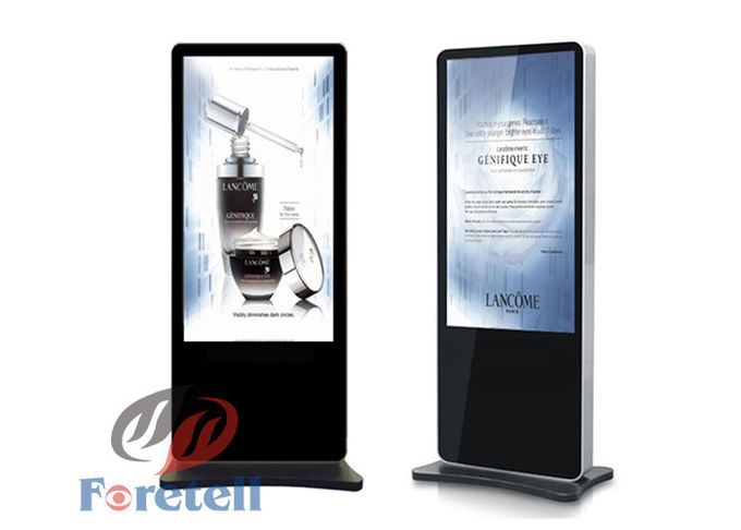 Interactive LCD Advertising Indoor Digital Signage Display 1920 * 1080 Resolution