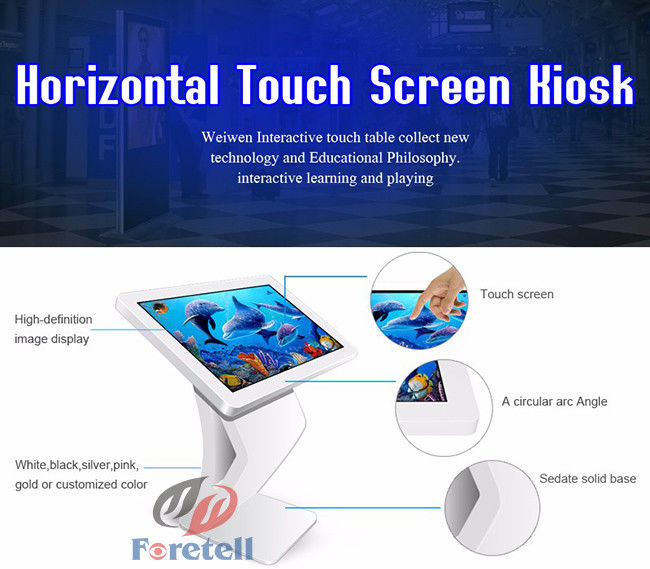 Digital Advertising Signs Interactive Digital Signage Display 5ms Response Time