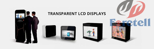 Transparent OLED Screen Lcd Ad Display , Transparent Digital Display 8ms Response Time